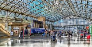 Estación del tren, Aberdeen, Escocia