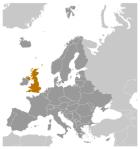 Mapa localización Reino Unido