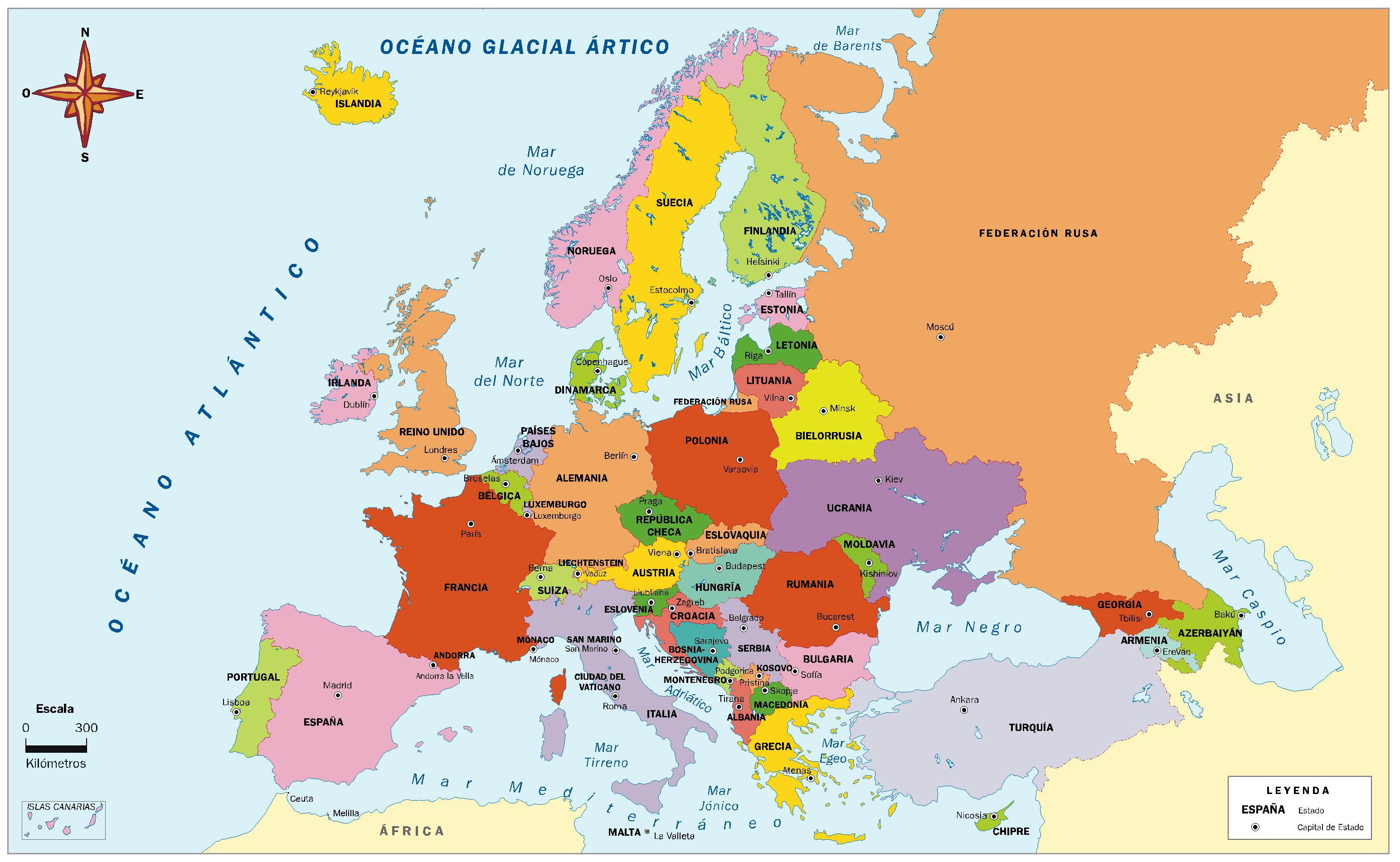 1901 en Europa: mapas …