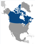 Localización de Canadá