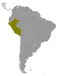 Localización de Perú