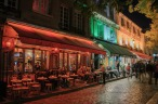 Cafés en Montmartre