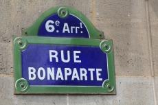Calle Bonaparte, París